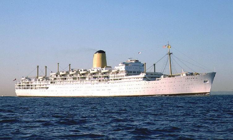 E's Diary: SS ARCADIA
