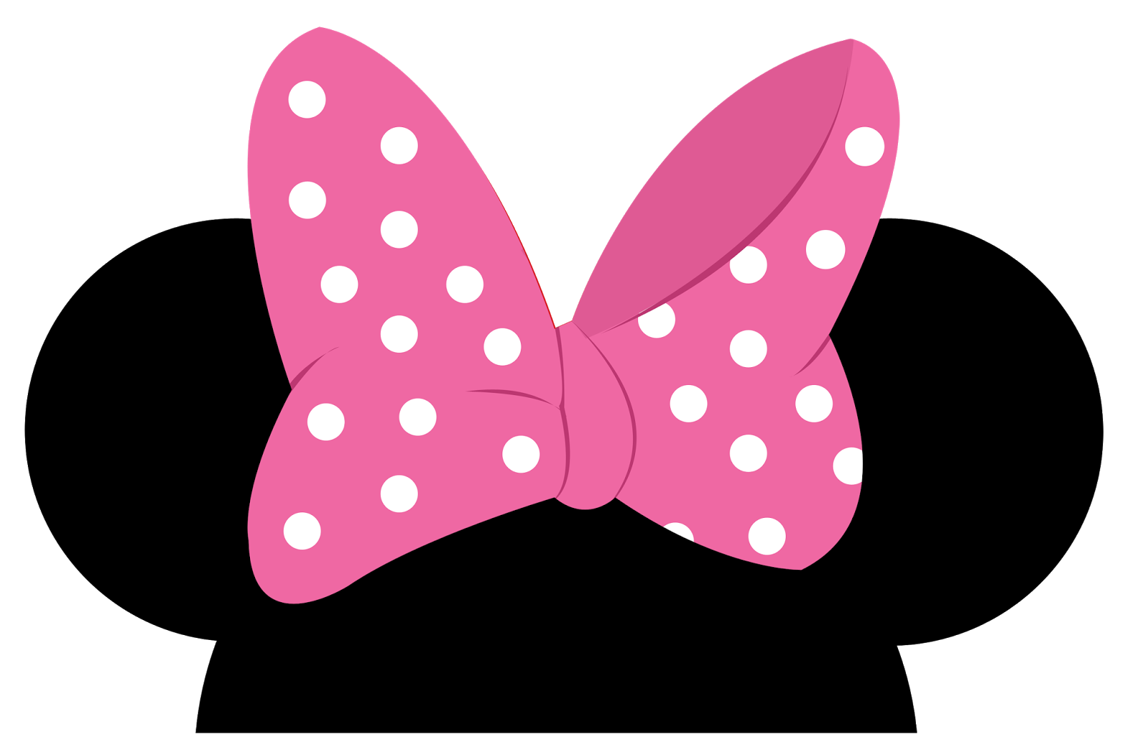 Very Minnie Girls: Free Printable Clipart.