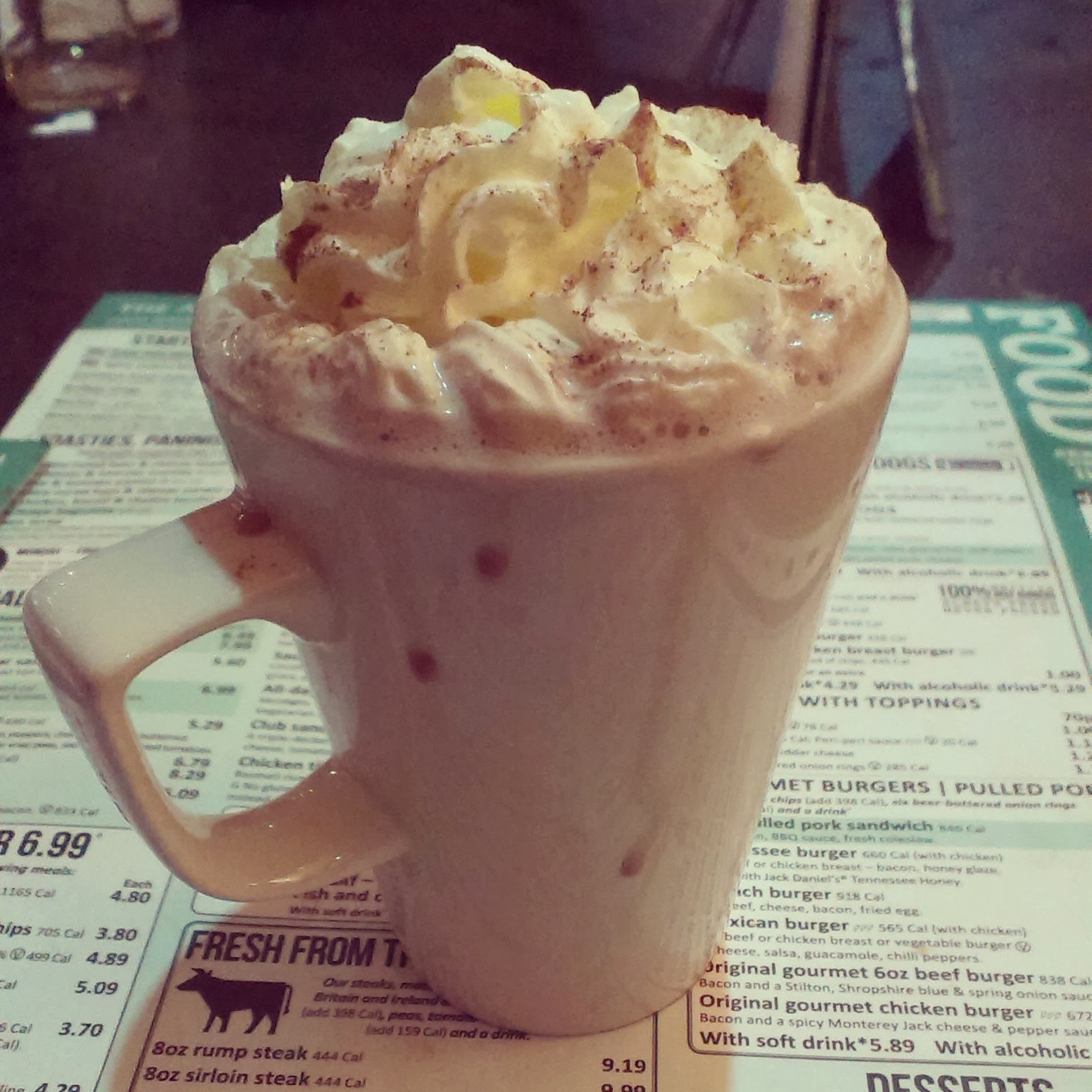 Wetherspoons Hot Chocolate