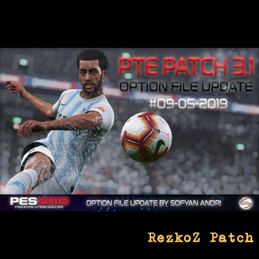 PES 2019 Option File For PTE Patch V3 1 Update 09/05/2019