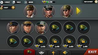 世界の覇者3 将軍画面