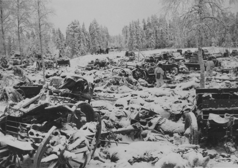 20 December 1939  worldwartwo.filminspector.com Soviet relief column Suomossalmi