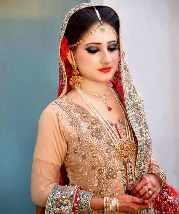 Latest Bridal Make Up 2014 ( Special Pakistani Dulhan