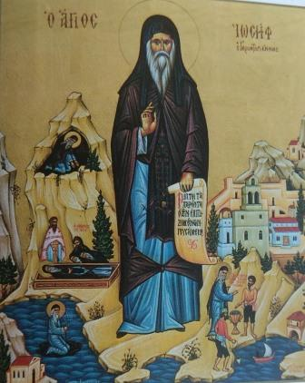 Ιερά Αγρυπνία για τη μνήμη του Οσίου Ιωσήφ του Γεροντογιάννη  στην Ιερά Μονή Καψά Σητείας