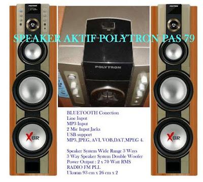Aktif Speaker Polytron PAS 79 XBR