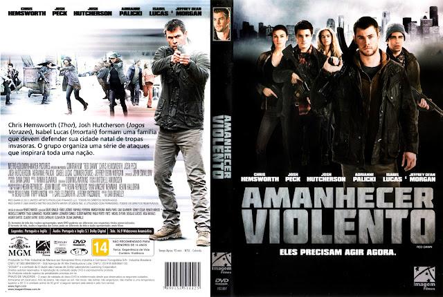 Capa DVD Amanhecer Violento