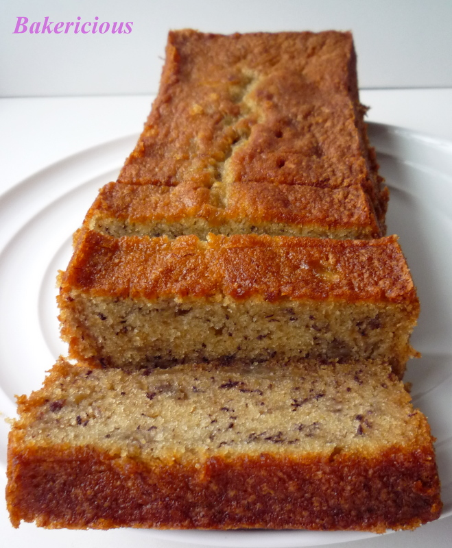 Bakericious  Soft and Moist Banana Cake Soft and Moist Banana Cake