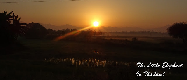 A sunrise a day keeps the doctor away in Phrae - Thailand