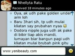 Review testimoni golden underarm