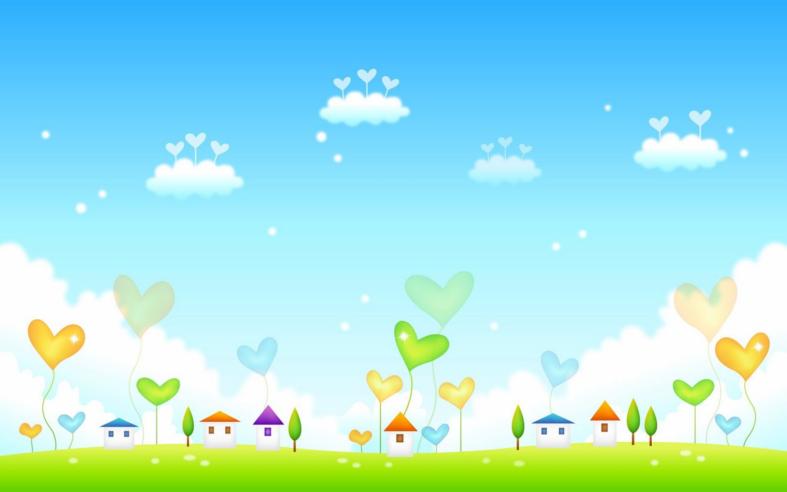 50 Wallpaper Pemandangan Cartoon