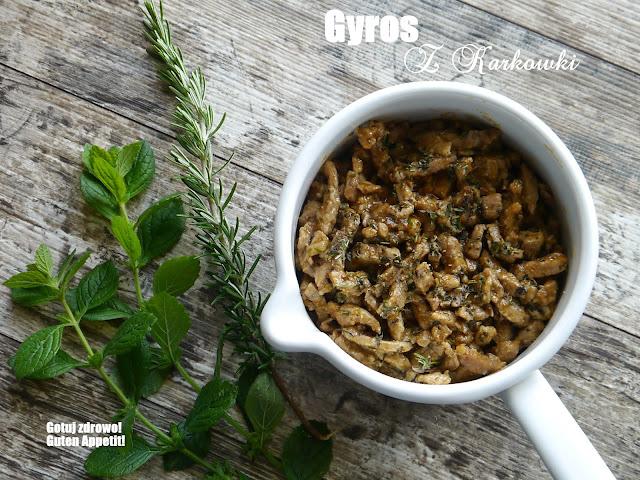 Gyros z karkówki i przepis na oryginalne tzatziki z Krety - Czytaj więcej »