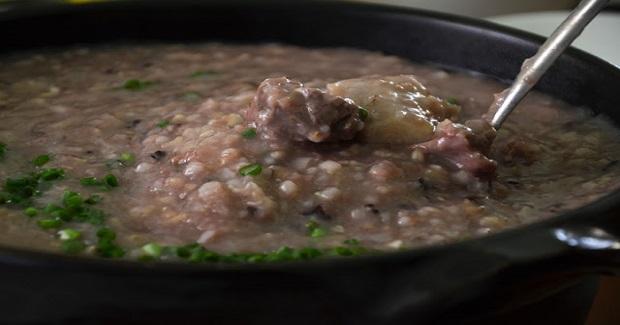 Taro & Pork Ribs Congee Recipe