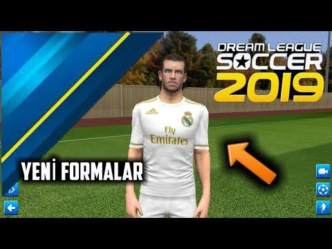 DLS19 Real Madrid Yeni Sezon 2020 Formaları Yaması İndir