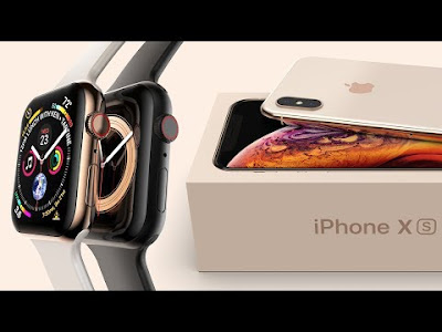 iPhone XS & Apple Watch 4 In Motion
