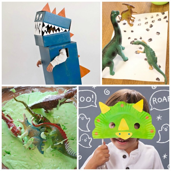 34 AWESOME DINOSAUR ACTIVITIES FOR KIDS- my little dinosaur lover is going to LOVE these!!!