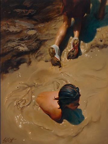 Teresa Elliot Portraits Amp Longhorns Figurative Artist