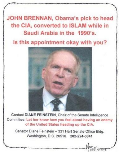 11 cia report and john brennans muslim conversion media silent