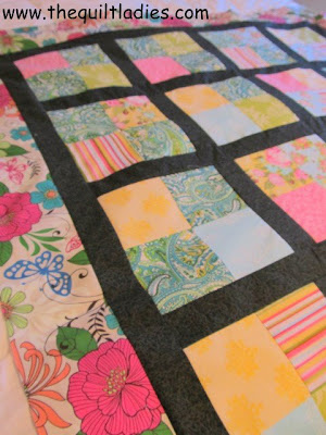 Simple Four Patch Quilt Pattern Free by The Quilt Ladies