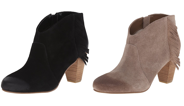 Amazon: Tahari Camila Fringe Booties for as low as $24 (reg $119) + free shipping!