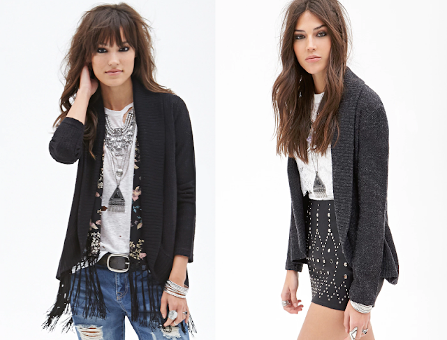 Forever 21 Knit Shall Collar Cardigan 2 for $12!
