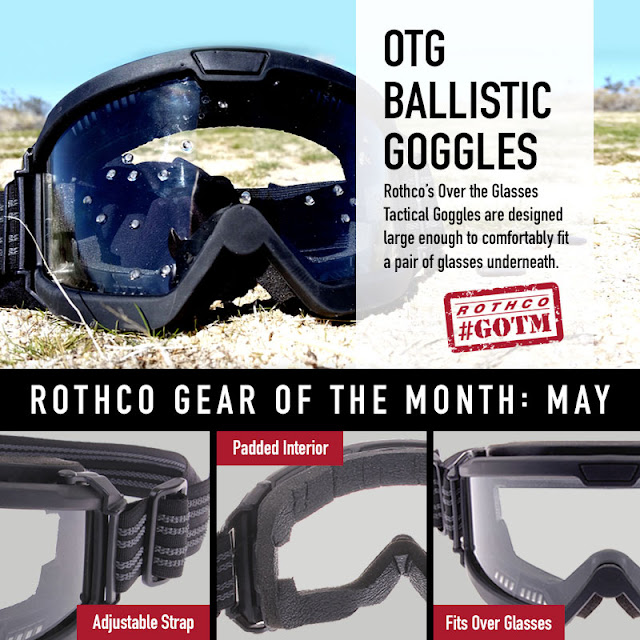 The Gear Of The Month Is...