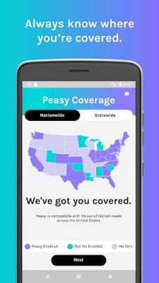 Peasy Verra mobility app