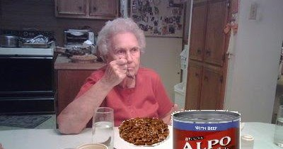 Senior Dog Food >> W.C. Varones: Bernanke wants old people to eat dog food