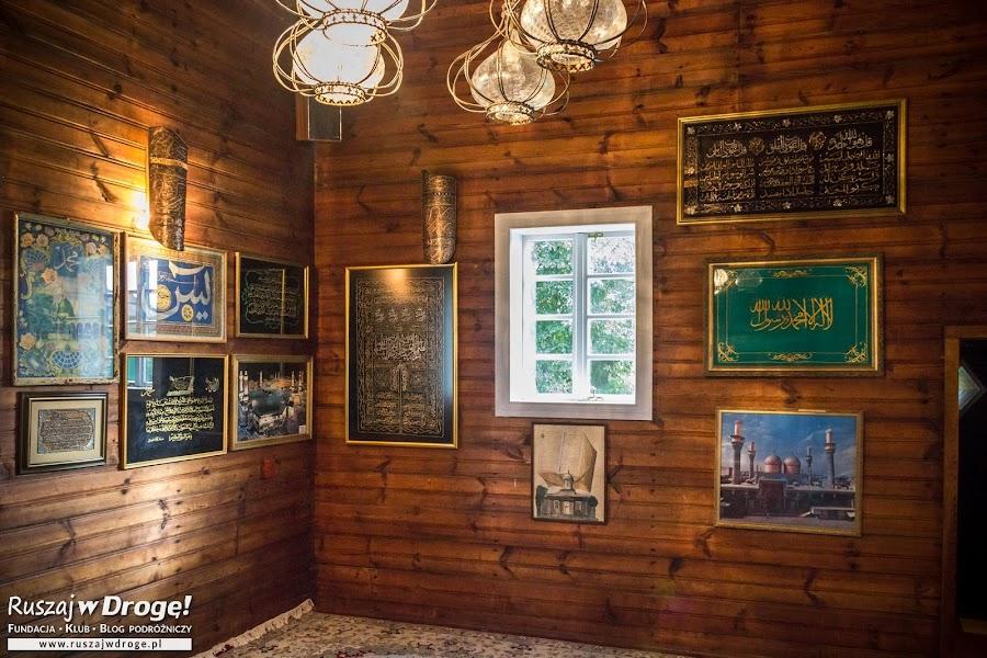 Meczet w Kruszynianach na Podlaskim Szlaku Tatarskim
