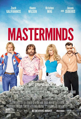 Masterminds Poster Film