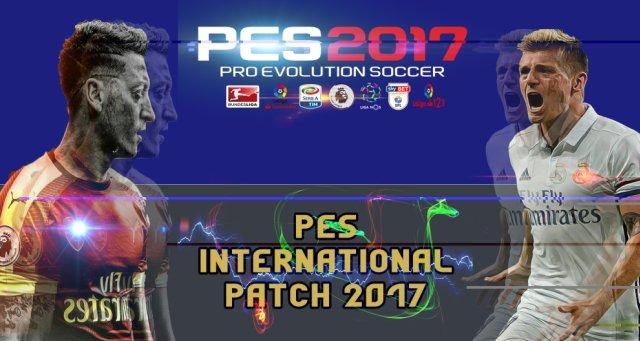 احدث باتشات PES 2017 بتحديثات قوية PES International Patch 17 v0.1