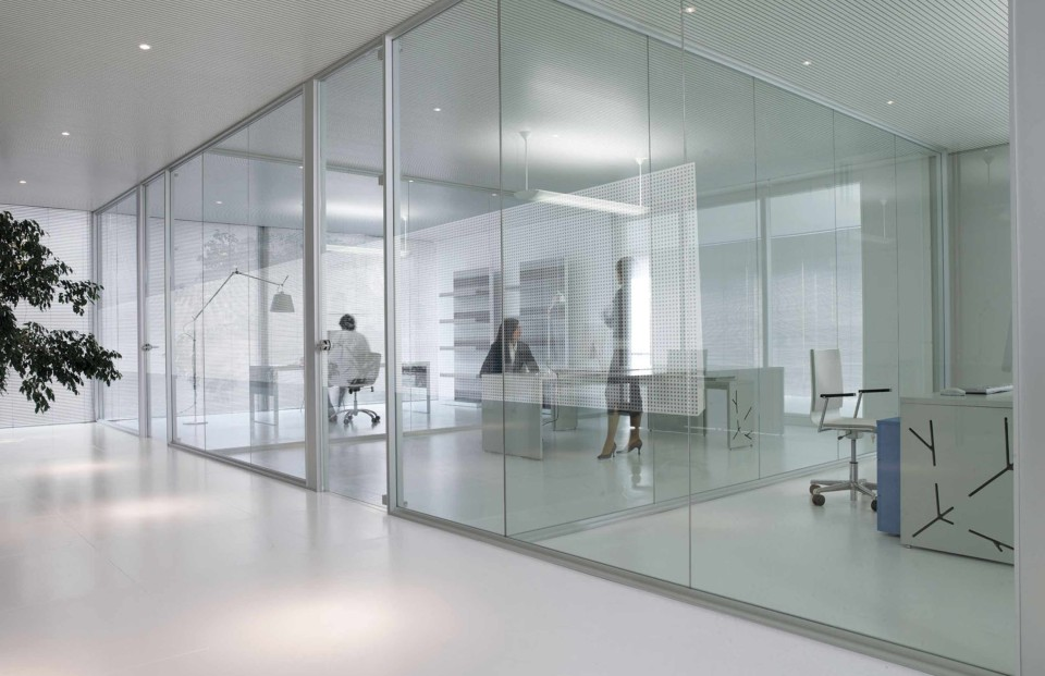Mamparas para oficinas  Cerramientos en Madrid