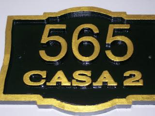 placa para residencia