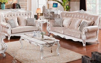 sofa tamu duco putih tulang