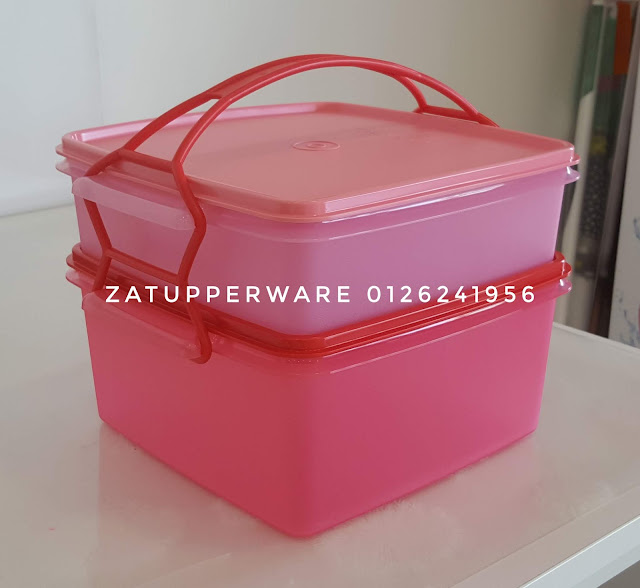 Tupperware Jumbo Goody Box with Carolier (4L+2L)