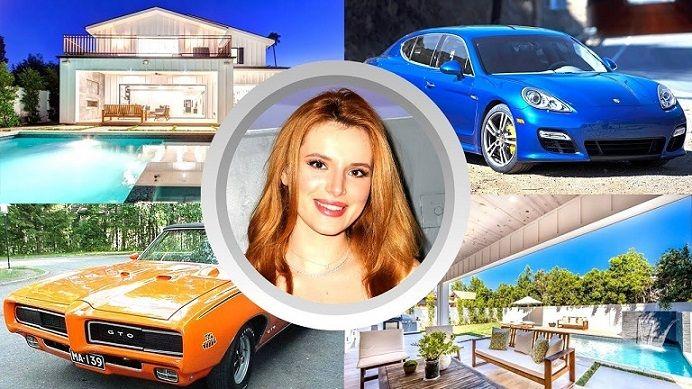 بيلا ثورن تشتري قصر بسبب الإنستغرام Bella Thorne