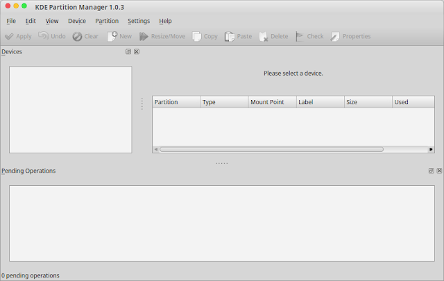 kde partition manager