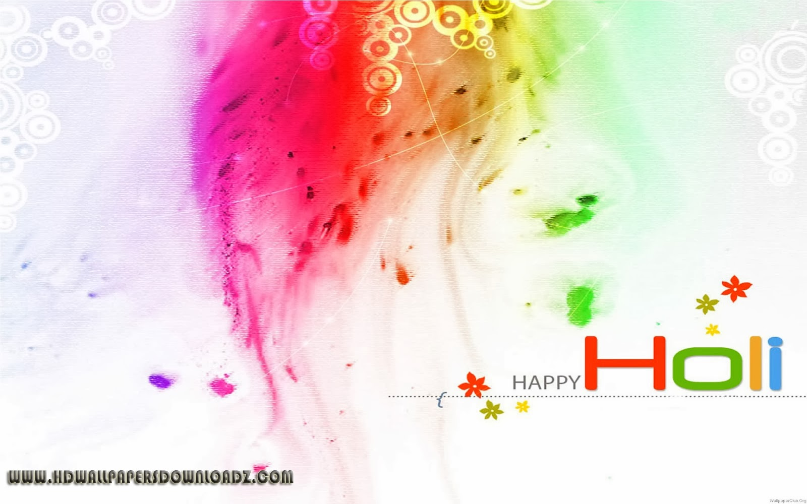 Latest Holi HD Wallpaper