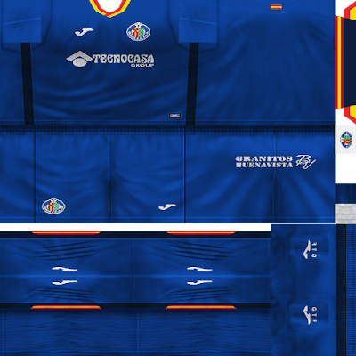 PES 6 Kits Getafe CF Season 2018/2019 by VillaPilla