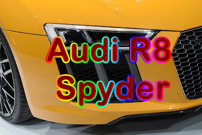 Audi R8 Spyder - New York Auto Show Debut - Ototmotif Review