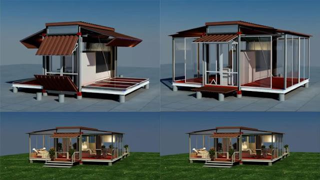 Container Home Design Idea