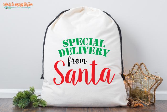 Santa Sack SVG