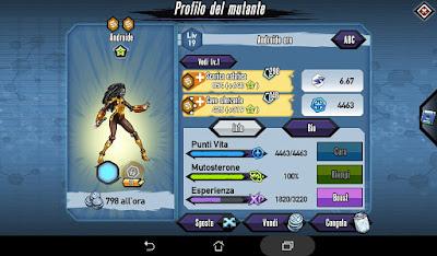 Mutants: Genetic Gladiators Breeding video N°169 (Android - H.U.M.A.N.)