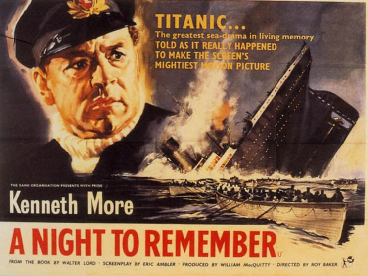 commentaramafilms quota night to rememberquot the titanic in