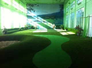 Dịch vụ thiết kế thi công sân golf mini trong nhà