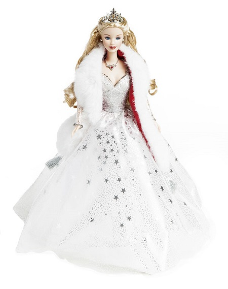 Barbie Coleção Feliz Natal 2001