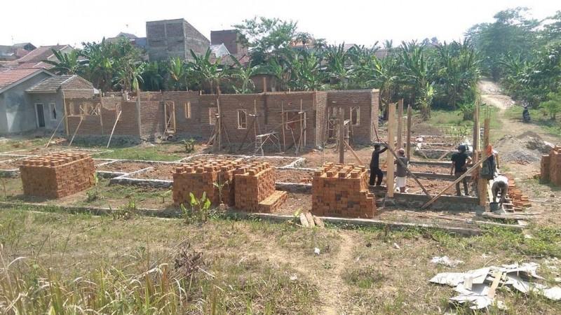 Proses pembangunan perumahan BTN