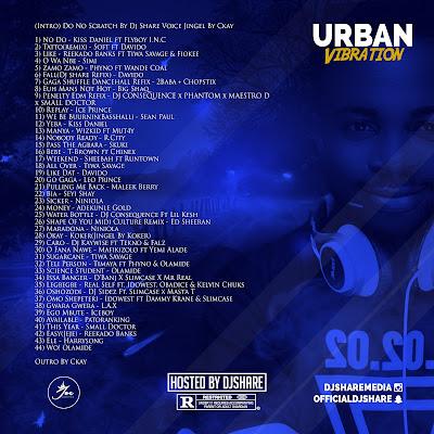 MIXTAPE: DJ Share – Urban Vibration (March Edition)