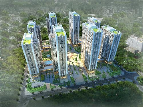Phối cảnh tổng quan dự án An Bình City.