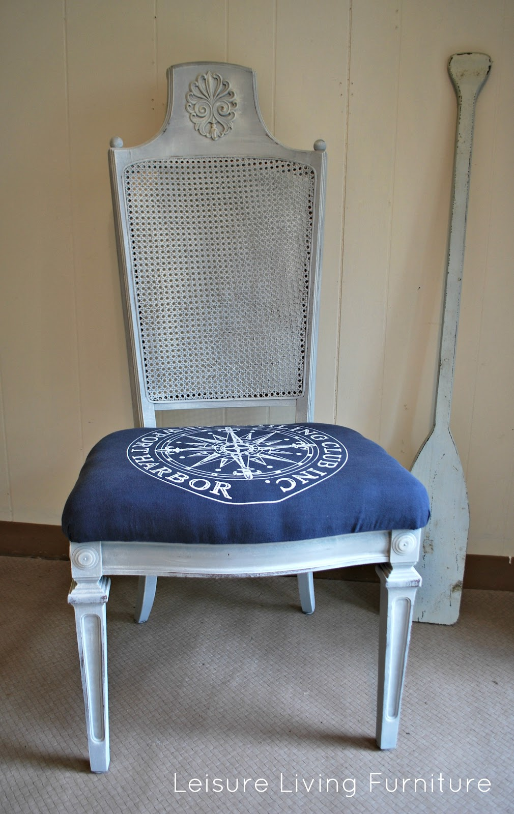 Leisure Living Nautical Accent Chair
