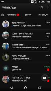 WhatsApp BLACK v2.17.254 Apk